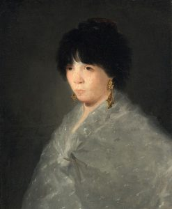 Woman in a Grey Shawl | Francisco de Goya y Lucientes | Oil Painting