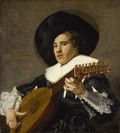 The Lute Player | Frans Hals | Oil Painting