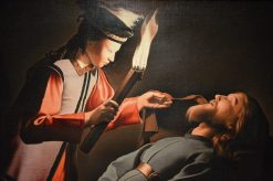 The Image of Saint Alexis | Georges de La Tour | Oil Painting