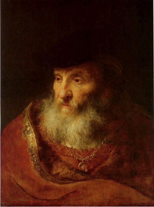 Old Man with a Beard | Govaert Flinck | Oil Painting