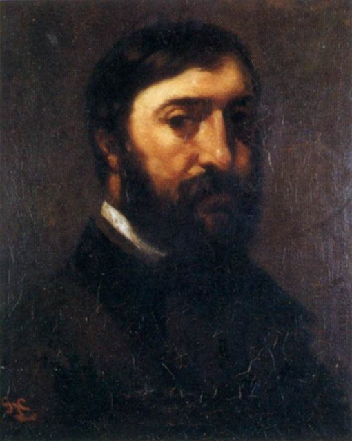 Adolphe Marlet | Gustave Courbet | Oil Painting