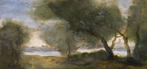 Willows | Jean Baptiste Camille Corot | Oil Painting