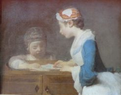 The Schoolmistress | Jean Baptiste Simeon Chardin | Oil Painting
