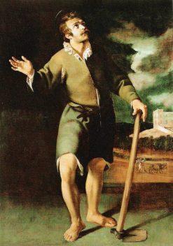 San Isidro | Juan van der Hamen | Oil Painting