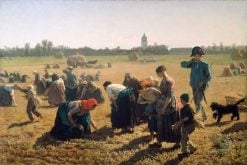 The Gleaners | Jules Adolphe Breton | Oil Painting