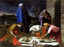 Lamentation over the Dead Christ | Nicolas Poussin | Oil Painting