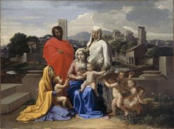 Holy Family | Nicolas Poussin | Oil Painting