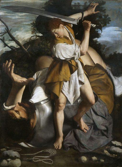 David and Goliath | Orazio Gentileschi | Oil Painting