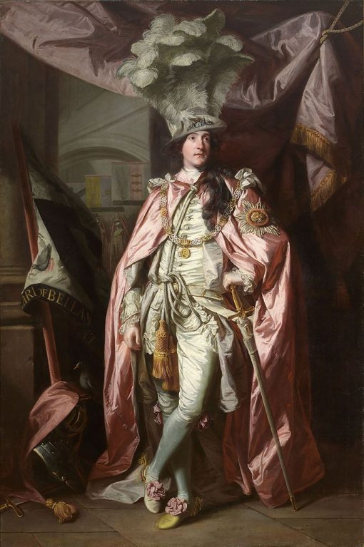 Portrait of Charles Coote