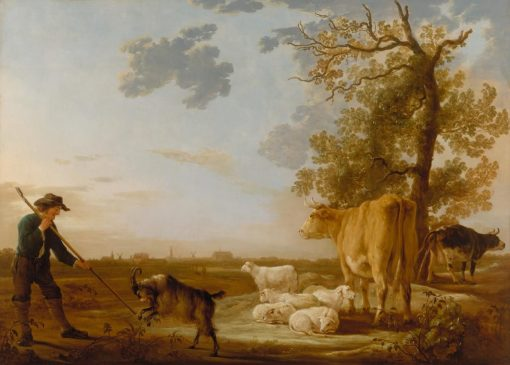 Landscape with Cattle | Aelbert Cuyp | Oil Painting