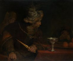 King Ahasuerus Condeming Haman | Aert de Gelder | Oil Painting