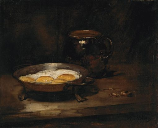Eggs in a Pan | Antoine Vollon | Oil Painting