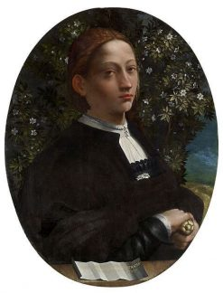 Portrait of a Youth (Lucrezia Borgia?) | Dosso Dossi | Oil Painting