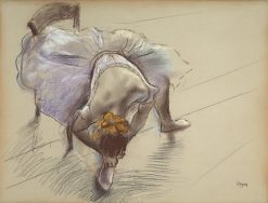 Ballet Dancer | Edgar Degas | Oil Painting