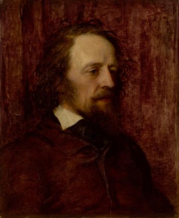Alfred Tennyson   George Frederic Watts   Oil Painting