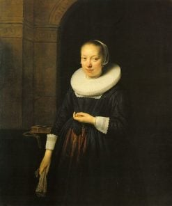 Portrait of a Young Lady | Govaert Flinck | Oil Painting