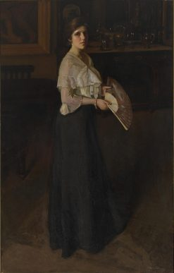 Woman with Fan | Hugh Ramsay | Oil Painting