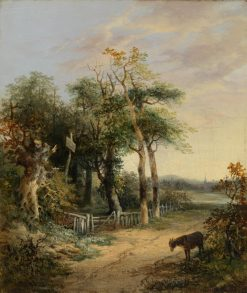 Landscape with a Donkey | James Stark | Oil Painting