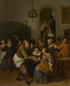 The Wedding Party | Jan Havicksz. Steen | Oil Painting