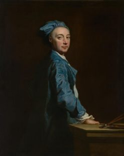 Self Portrait   Joseph Highmore   Oil Painting