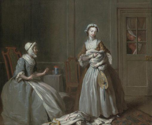 Pamela Preparing to go Home | Joseph Highmore | Oil Painting