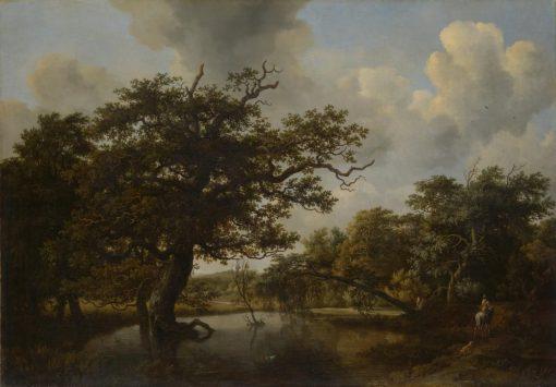 The Old Oak | Meindert Hobbema | Oil Painting