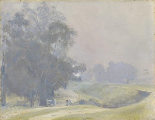 Fog on the road to Yea | Tom Roberts | Oil Painting