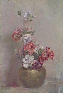 Pelargoniums | Tom Roberts | Oil Painting