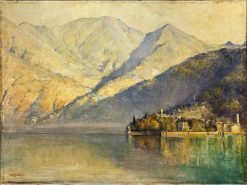 Lake Como | Tom Roberts | Oil Painting