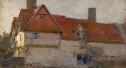 House of Anning Bell | Tom Roberts | Oil Painting
