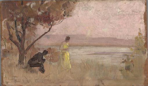 Mentone | Tom Roberts | Oil Painting