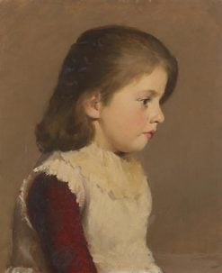 Portrait of a Young Girl | Tom Roberts | Oil Painting