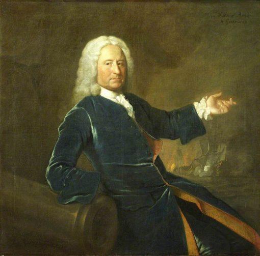Admiral the Honourable Charles Stewart | Allan Ramsay | Oil Painting