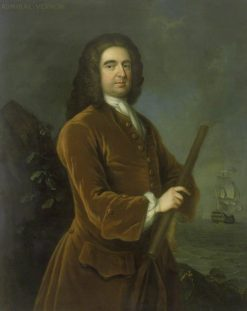 Admiral Edward Vernon (1684-1757) | Charles Philips | Oil Painting