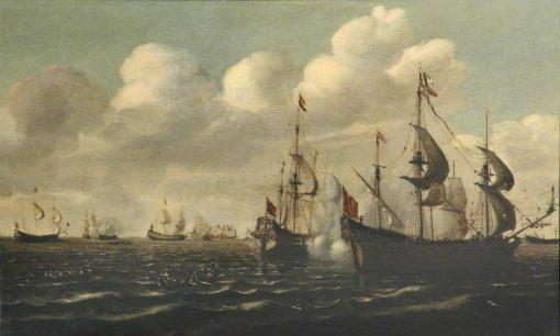 A Battle of the First Dutch War