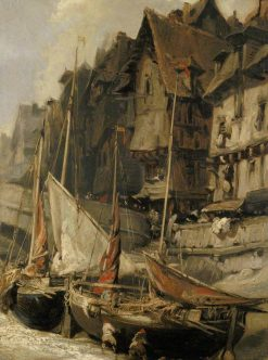 Port Scene | Eugene Isabey | Oil Painting
