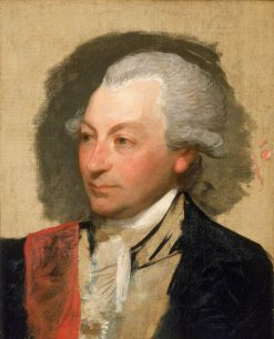 Captain Sir John Jervis (1735-1823) | Gilbert Stuart | Oil Painting