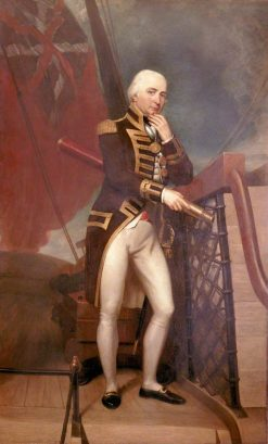 Rear-Admiral Cuthbert Collingwood (1748-1810) | Henry Howard | Oil Painting