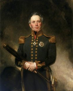 Rear-Admiral Sir Edward Brace (c.1769-1843) | Henry William Pickersgill | Oil Painting