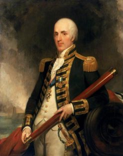 Rear-Admiral Sir Alexander John Ball (1757-1809) | Henry William Pickersgill | Oil Painting