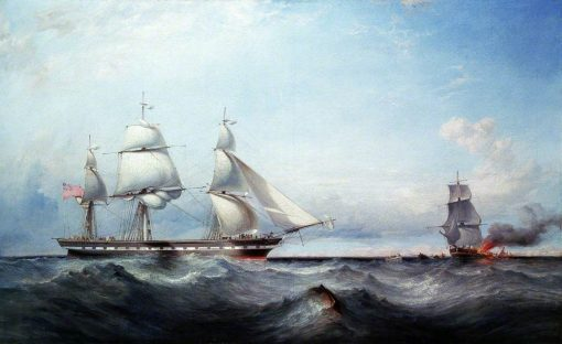 The Ship 'Roxburgh Castle' | James Harris Senior | Oil Painting