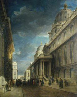 Greenwich Hospital from the West Side | James Holland | Oil Painting