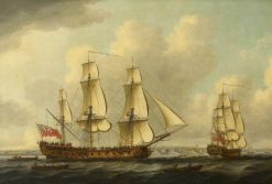 The East Indiaman 'Princess Royal' | John Cleveley the Elder | Oil Painting