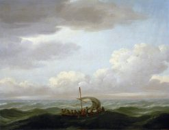 The Yawl of the 'Luxborough' Galley | John Cleveley the Elder | Oil Painting