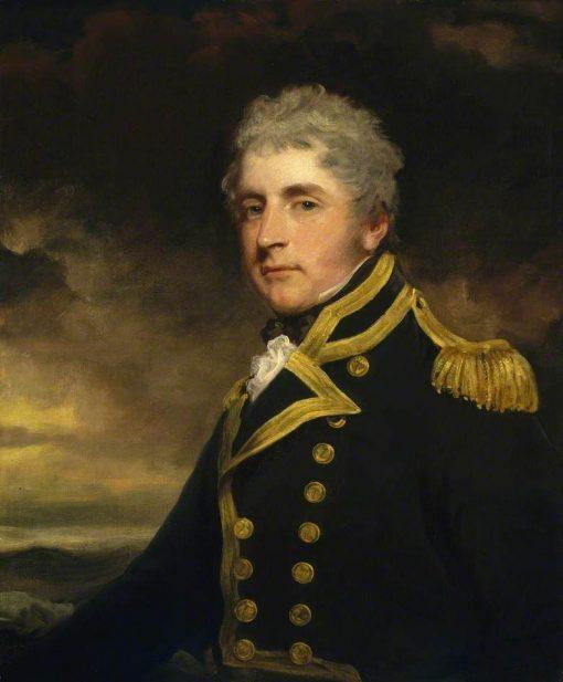 Captain Henry Blackwood   John Hoppner   Oil Painting