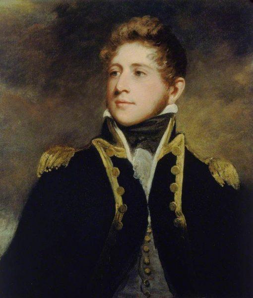 Captain Peter Parker   John Hoppner   Oil Painting