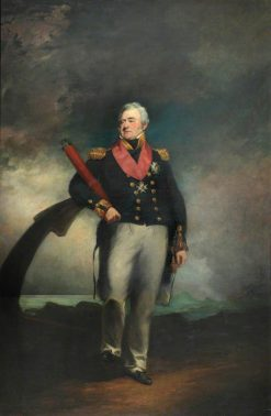Admiral Lord Amelius Beauclerk (1771-1846) | John Jackson | Oil Painting