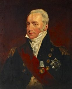 Vice-Admiral Sir Richard Goodwin Keats (1757-1834) | John Jackson | Oil Painting