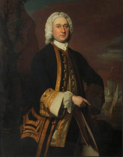 Captain William Gordon (c.1709-1768) | Joseph Highmore | Oil Painting