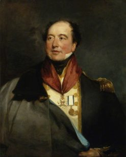 Captain Sir Christopher Cole | Margaret Sarah Carpenter | Oil Painting